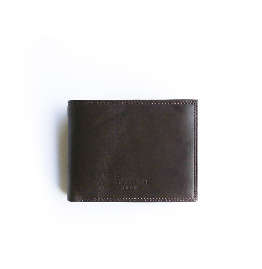 Black Wallet - Leather