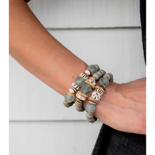 Load image into Gallery viewer, GRAY BRACELET STACK