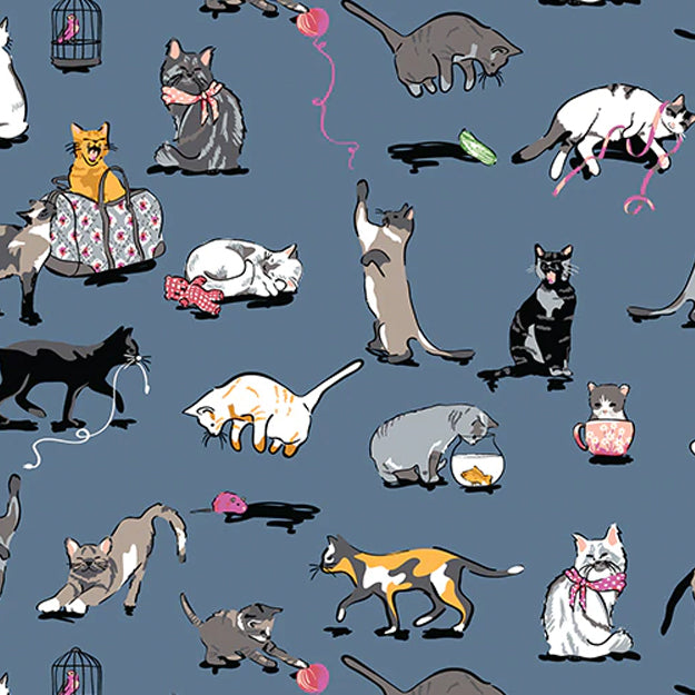 New Pattern Sneak Peek: Cat's Meow  — Fall 2019