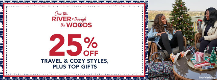 25 off Travel and Cozy Favorites plus Top Gifts