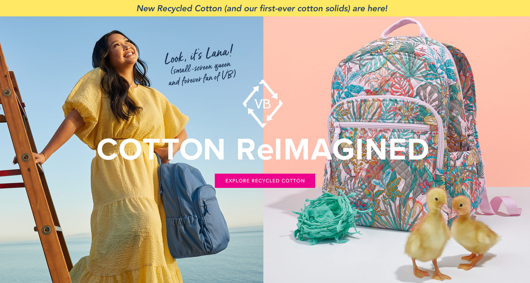 NEW Recycled Cotton (and our first-ever cotton solids) are here! COTTON Re-IMAGINED Explore Recycled Cotton