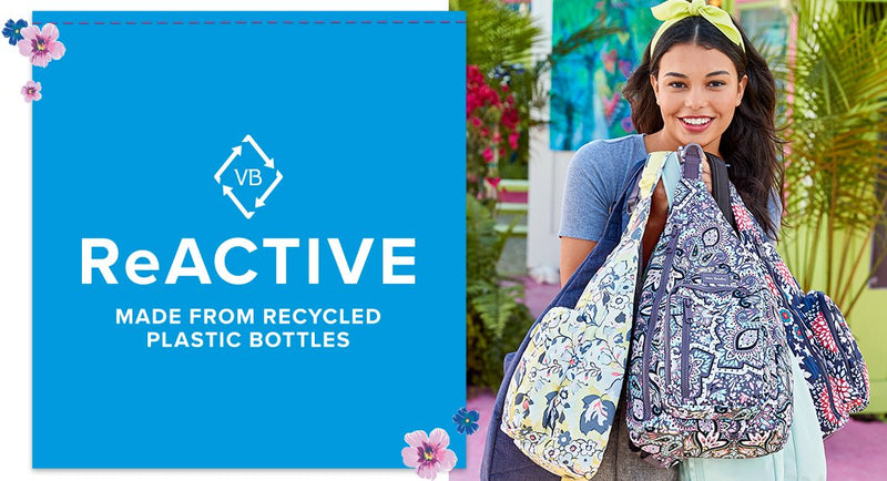 ReActive. Made from recycled plastic bottles.