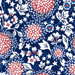 Beach Towel-Red White & Blossoms-Image 2-Vera Bradley