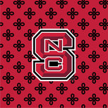 Collegiate Vera Tote Bag-Red/Black Mini Concerto with North Carolina State University Logo-Image 2-Vera Bradley