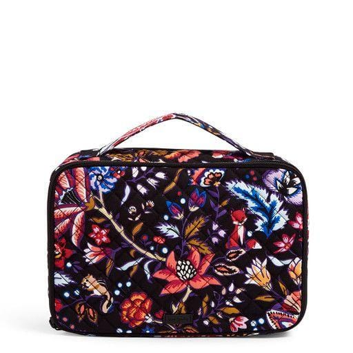 Large Blush & Brush Case-Foxwood-Image 1-Vera Bradley