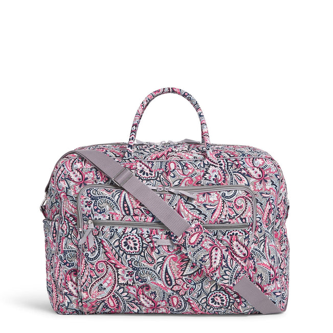 Grand Weekender Travel Bag-Gramercy Paisley-Image 1-Vera Bradley