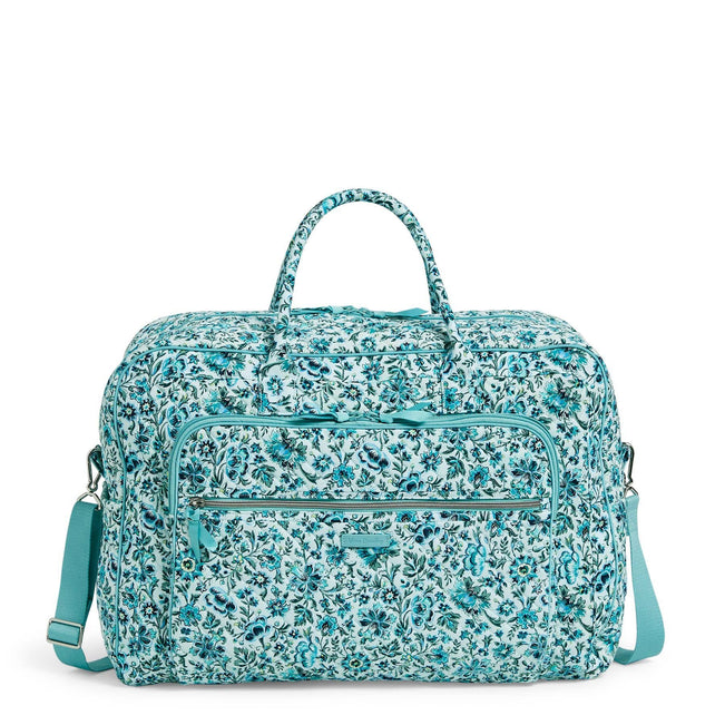 Grand Weekender Travel Bag-Cloud Vine-Image 1-Vera Bradley