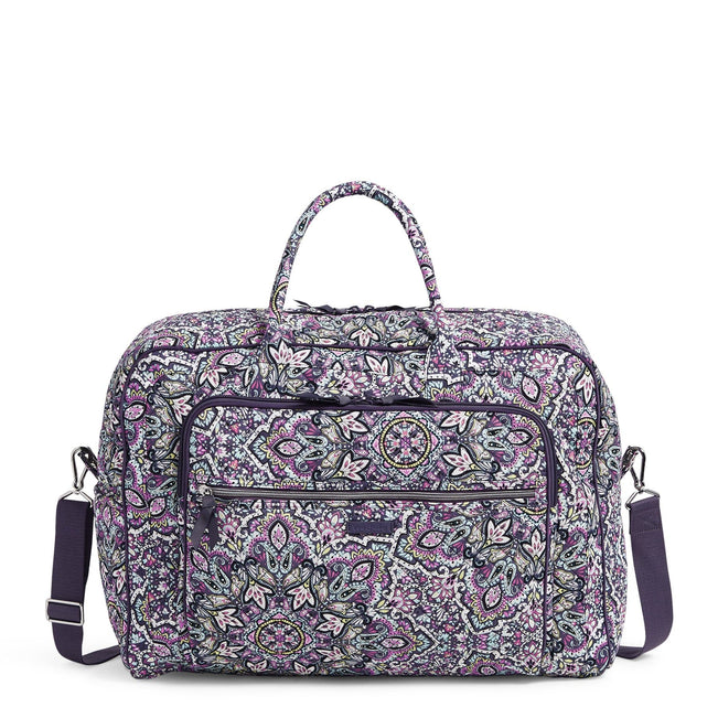 Grand Weekender Travel Bag-Bonbon Medallion-Image 1-Vera Bradley
