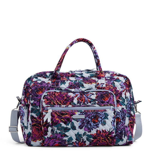 Weekender Travel Bag-Neon Blooms-Image 1-Vera Bradley