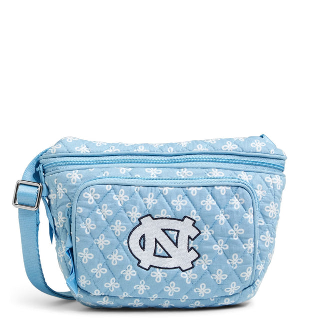 Collegiate Belt Bag-Car. Blue/White Mini Concerto with University of North Carolina Logo-Image 1-Vera Bradley