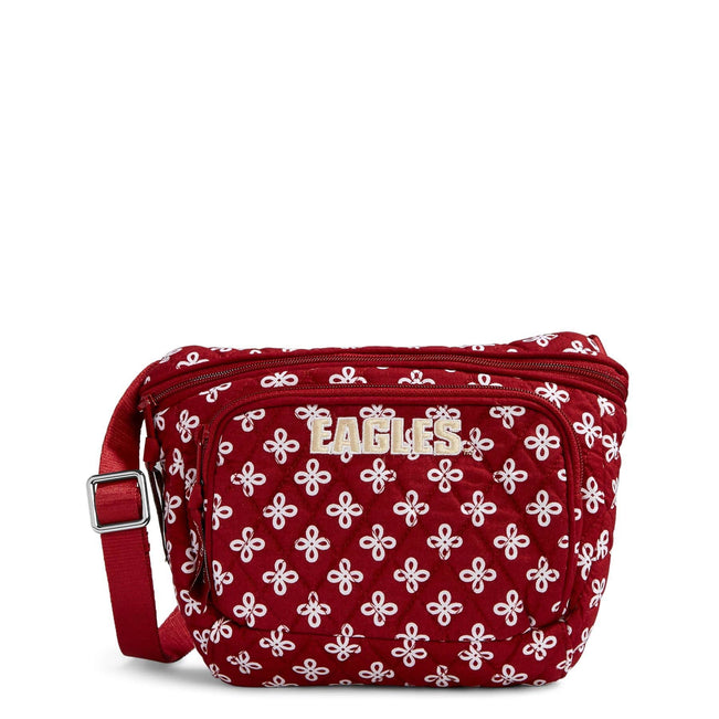 Collegiate Belt Bag-Cardinal/White Mini Concerto with Boston College Logo-Image 1-Vera Bradley