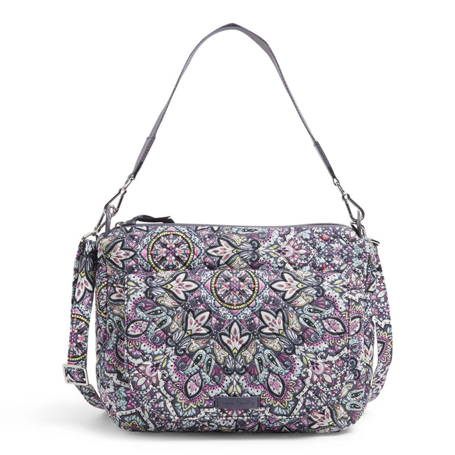 Carson Shoulder Bag-Bonbon Medallion-Image 1-Vera Bradley