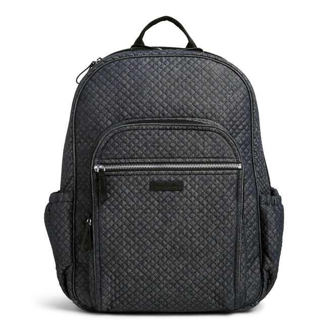 Campus Backpack-Denim Navy-Image 1-Vera Bradley
