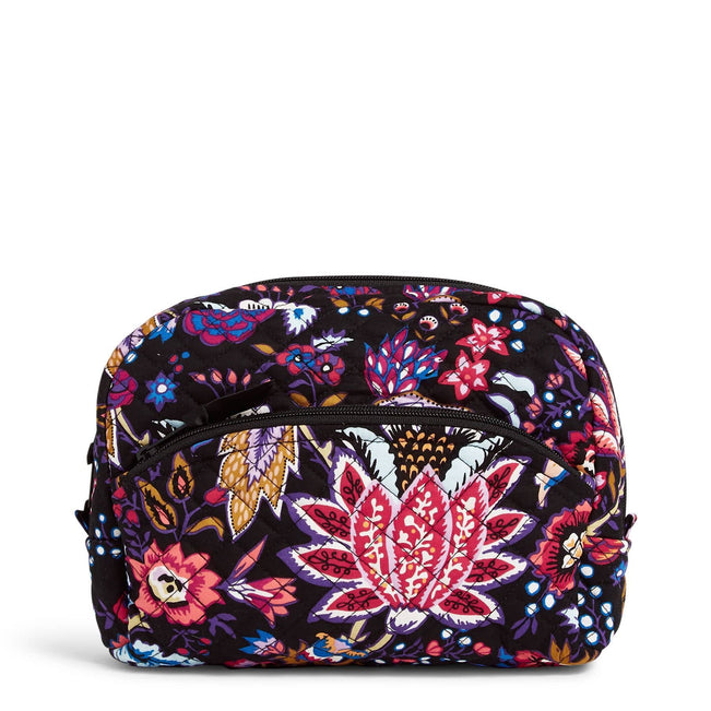 Large Cosmetic Bag-Foxwood-Image 1-Vera Bradley
