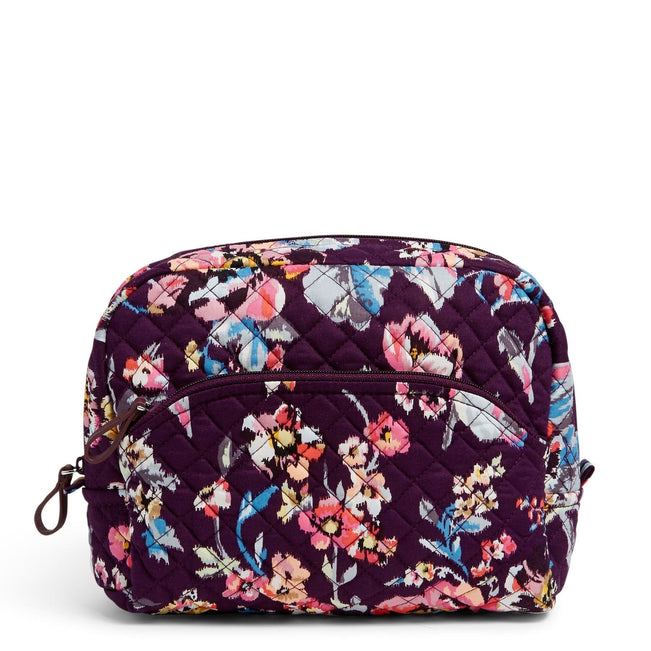 Large Cosmetic Bag-Indiana Rose-Image 1-Vera Bradley
