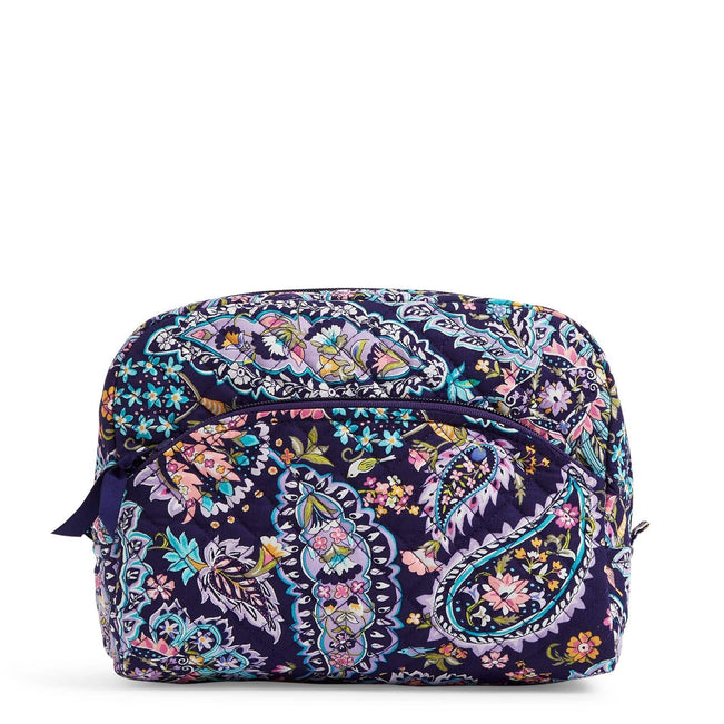 Large Cosmetic Bag-French Paisley-Image 1-Vera Bradley