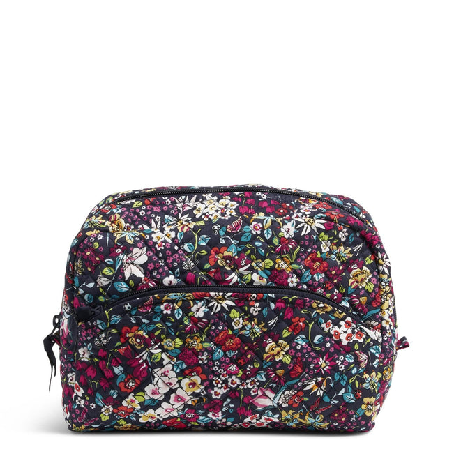 Large Cosmetic Bag-Itsy Ditsy-Image 1-Vera Bradley