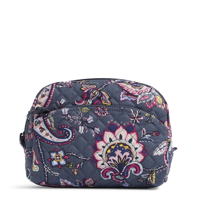 Medium Cosmetic Bag-Felicity Paisley-Image 1-Vera Bradley