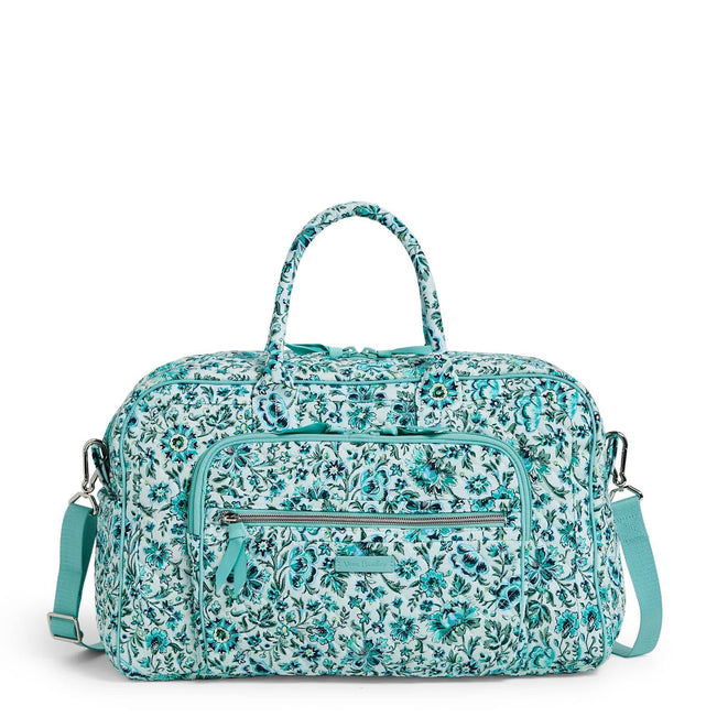 Compact Weekender Travel Bag-Cloud Vine-Image 1-Vera Bradley
