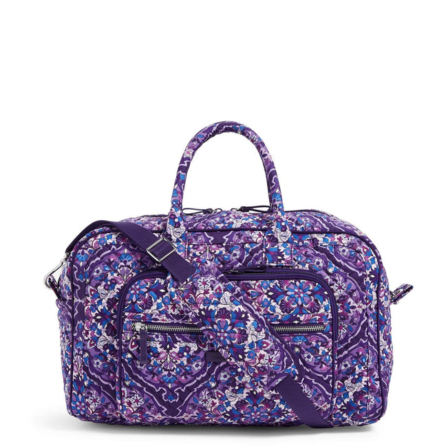 Compact Weekender Travel Bag-Regal Rosette-Image 1-Vera Bradley