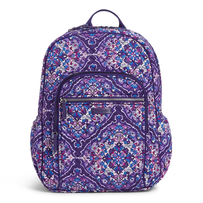 Campus Backpack-Regal Rosette-Image 1-Vera Bradley