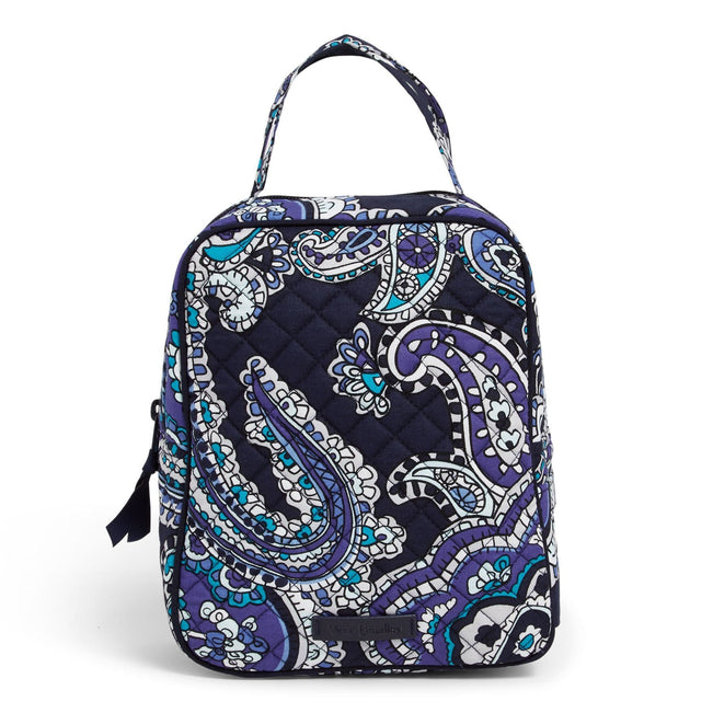 Lunch Bunch Bag-Deep Night Paisley-Image 1-Vera Bradley