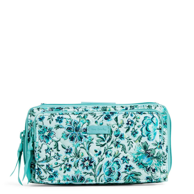 RFID Deluxe All Together Crossbody-Cloud Vine-Image 1-Vera Bradley