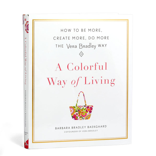 A Colorful Way of Living Book-No Color-Image 1-Vera Bradley