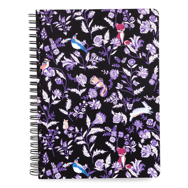Mini Notebook with Pocket-Foxwood-Image 1-Vera Bradley