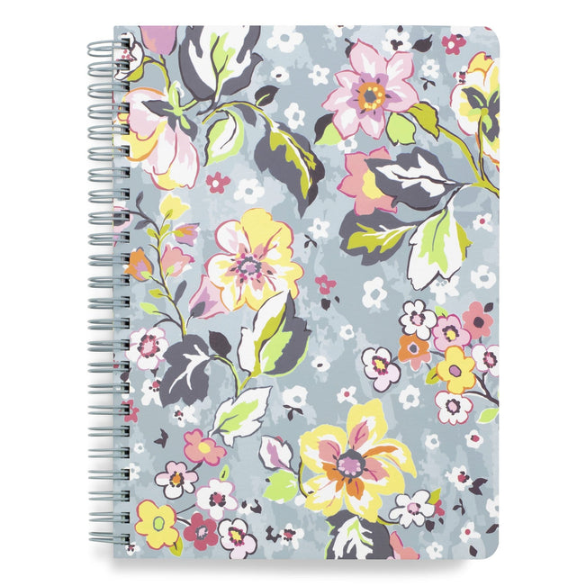Mini Notebook with Pocket-Floating Garden-Image 1-Vera Bradley
