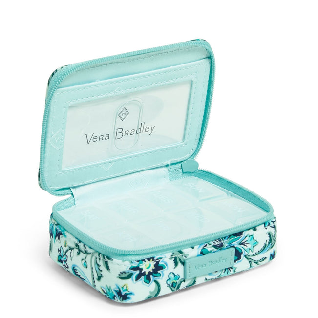 Travel Pill Case-Cloud Vine-Image 1-Vera Bradley