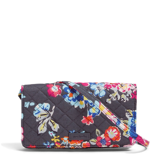 RFID All Together Crossbody-Pretty Posies-Image 1-Vera Bradley