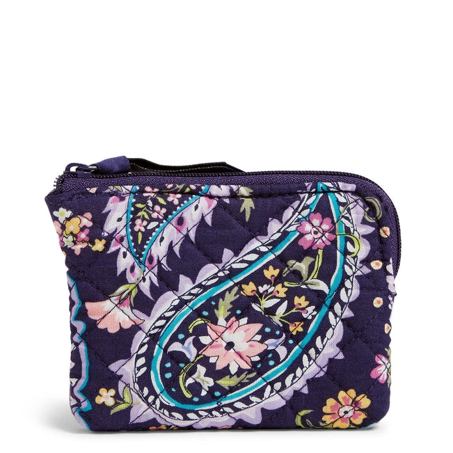Coin Purse-French Paisley-Image 1-Vera Bradley