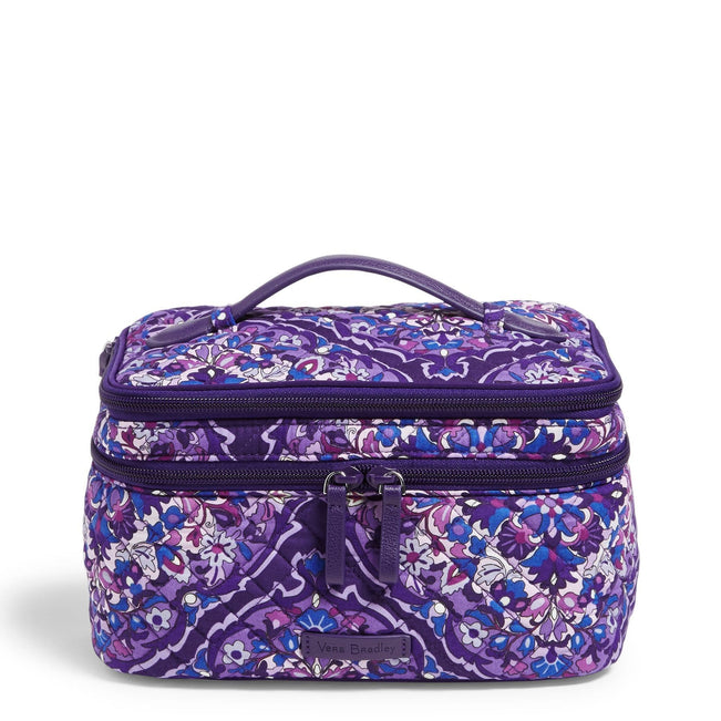 Brush Up Cosmetic Case-Regal Rosette-Image 1-Vera Bradley