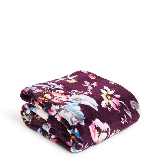 Plush Throw Blanket-Indiana Rose-Image 1-Vera Bradley
