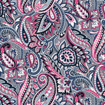 Plush Throw Blanket-Gramercy Paisley-Image 3-Vera Bradley