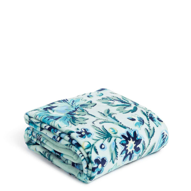 Plush Throw Blanket-Cloud Vine-Image 1-Vera Bradley