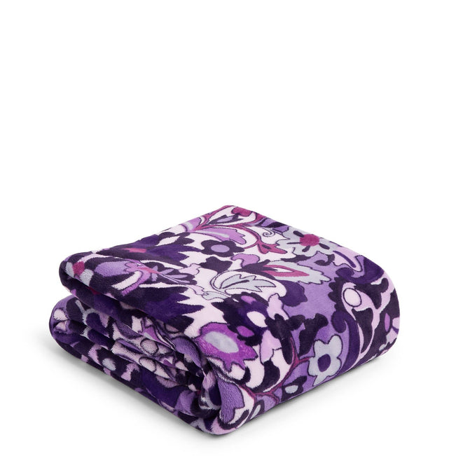 Plush Throw Blanket-Regal Rosette-Image 1-Vera Bradley