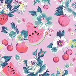 Plush Throw Blanket-Rosy Garden Picnic-Image 3-Vera Bradley