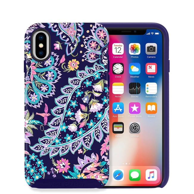 Hybrid Case for iPhone X/XS-French Paisley-Image 1-Vera Bradley