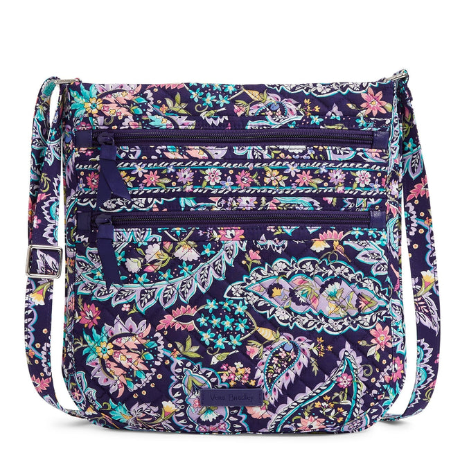 Triple Zip Hipster-French Paisley-Image 1-Vera Bradley