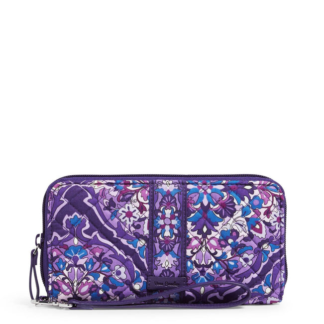RFID Accordion Wristlet-Regal Rosette-Image 1-Vera Bradley