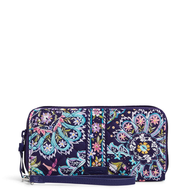 RFID Accordion Wristlet-French Paisley-Image 1-Vera Bradley