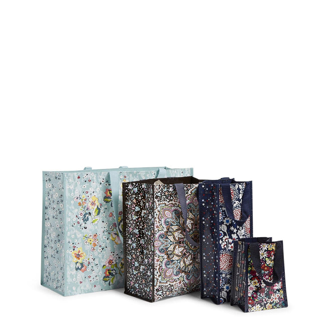 4 Pc. Market Tote Set-Floating Garden-Image 1-Vera Bradley