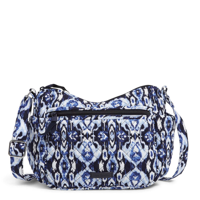 On the Go Crossbody Bag-Ikat Island-Image 1-Vera Bradley