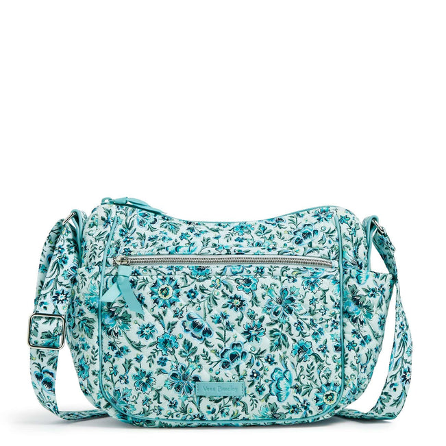 On the Go Crossbody-Cloud Vine-Image 1-Vera Bradley