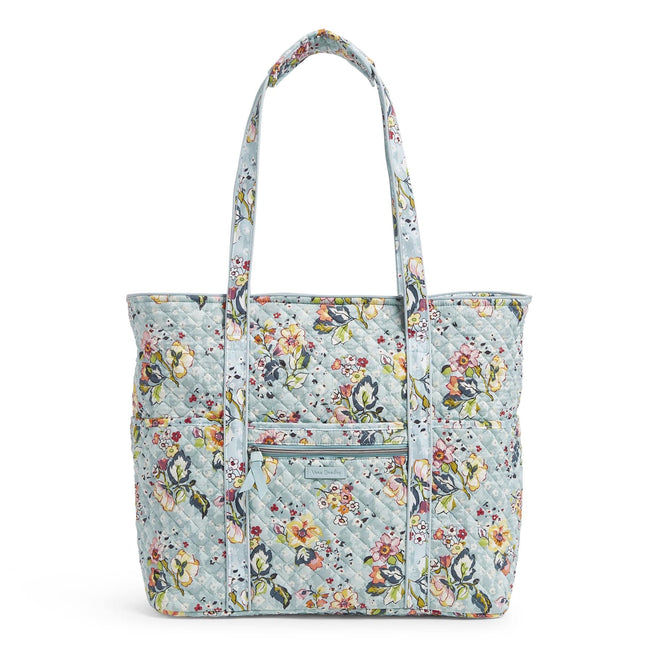 Get Carried Away Tote Bag-Floating Garden-Image 1-Vera Bradley