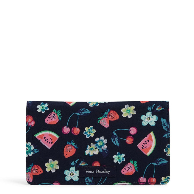 Checkbook Cover-Fruit Grove-Image 1-Vera Bradley