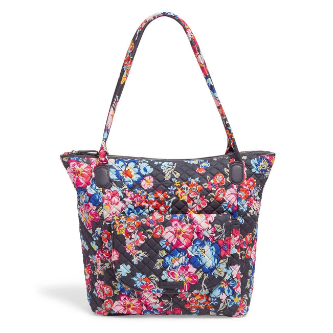 Carson North South Tote Bag-Pretty Posies-Image 1-Vera Bradley