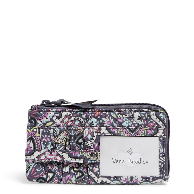 RFID Ultimate Card Case-Bonbon Medallion-Image 1-Vera Bradley